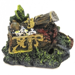 Penn Plax Mini Chest Aquarium Ornament Image