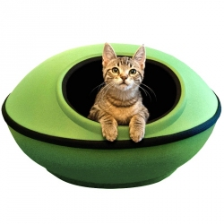 K&H Mod Dream Pod Cat Bed - Green Image