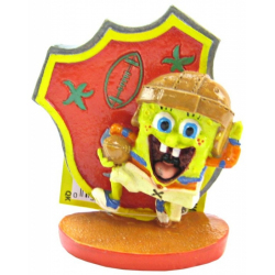 Penn Plax Spongebob Football Player Ornament Image