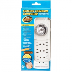 Zoo Med AquaSun Aquarium Controller Timer & Power Strip Image