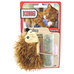 Kong Refillable Catnip Toy - Hedgehog Image