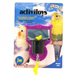 JW Activitoys Magic Hat Plastic Bird Toy Image