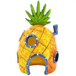 Penn Plax Spongebob Pineapple House Ornament Image