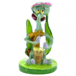 Penn Plax Spongebob Squidward Ornament Image