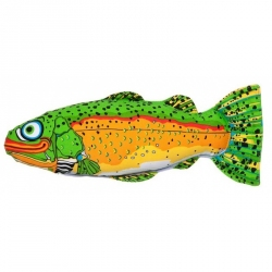 Fat Cat Incredible Strapping Yankers Trout Dog Toy Image