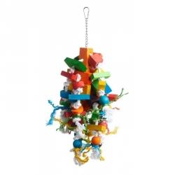 Prevue Bodacious Bites Wizard Bird Toy Image