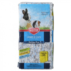 Kaytee Clean and Cozy Small Pet Bedding - Frozen Fun Image