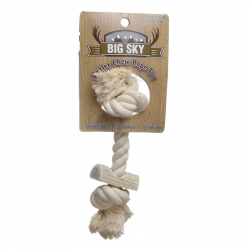 Big Sky Antler Chew with Rope Image