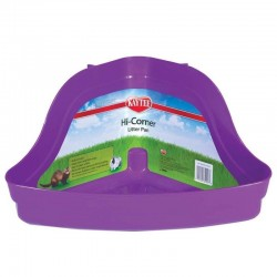 Kaytee Hi Corner Litter Pan - Assorted Colors Image
