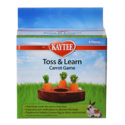 Kaytee Toss & Learn Carrot Game Image