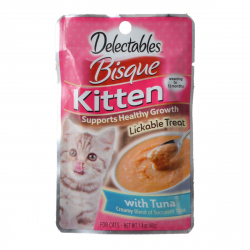 Hartz Delectables Bisque Kitten Treat - Tuna Image