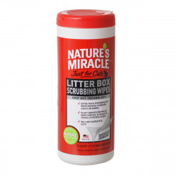 Nature's Miracle Just For Cats Litter Box Wipes Image