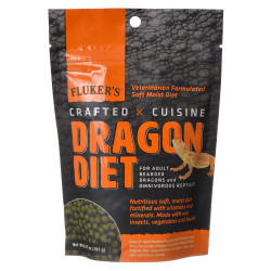 Flukers Crafted Cuisine Dragon Diet - Adults Image