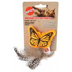 Spot Whiskins Felt Butterfly with Catnip - Assorted Colors Image