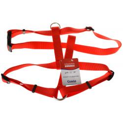 Tuff Collar Nylon Adjustable Harness - Red Image