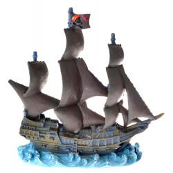 Penn Plax Black Pearl Resin Ornament - X-Large Image