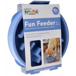 Outward Hound Fun Feeder Slo Bowl - Blue Image