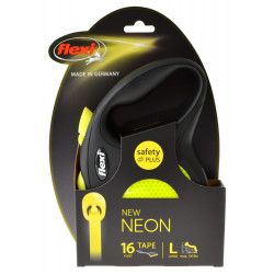 Flexi New Neon Retractable Tape Leash Image