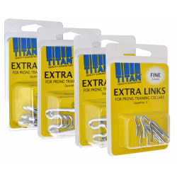 Titan Extra Links for Prong Training Collars Image