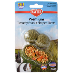 Kaytee Premium Timothy Peanut Shaped Treats Image