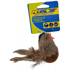 Petsport Feathered Kitty Wobbler Cat Toy - Assorted Colors Image