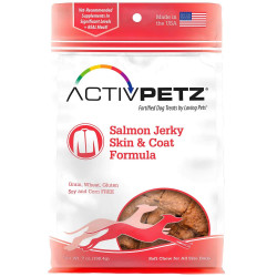 ActivPetz Salmon Jerky Skin & Coat Formula Dog Treats Image