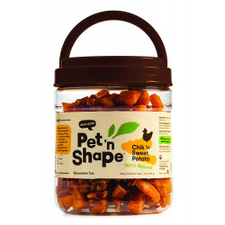 Pet 'n Shape Chik 'n Sweet Potato Dog Treats Image