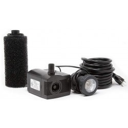 Beckett Pond Pump with Pre-Filter and LED Light Kit Image