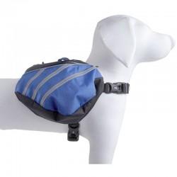 Pet Life Dupont Everest Backback for Dogs - Blue/Grey Image