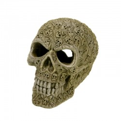 Exotic Environments Haunted Skull Aquarium Ornament Image