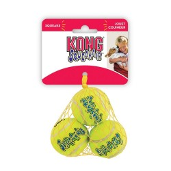 Kong Air Dog Squeakair Tennis Balls Image