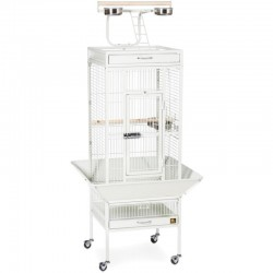 Prevue Select Bird Cage - White Image