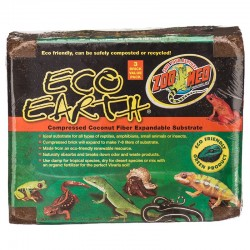 Zoo Med Eco Earth Compressed Coconut Fiber Substrate Image