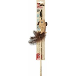 Spot Corkies Teaser Wand Cat Toy with Cat Nip - Assorted Colors Image