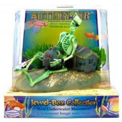 Penn Plax Action-Air Jewel Box Skeleton Aerating Aquarium Ornament Image