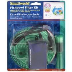 Penn Plax Small World Fishbowl Filter Kit Image