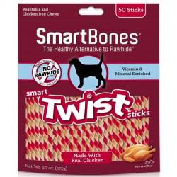 SmartBones Vegetable and Chicken Smart Twist Sticks Rawhide Free Dog Chew Image