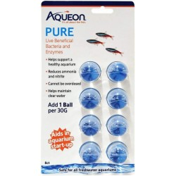 Aqueon Pure LIve Beneficial Bacteria and Enzymes for Aquariums Image