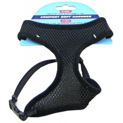 Coastal Pet Comfort Soft Harness - Black Image