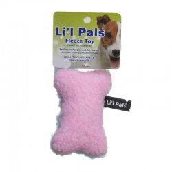 Lil Pals Fleecy Plush Dog Bone Toy Image