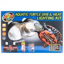 Zoo Med Aquatic Turtle UVB & Heat Lighting Kit Image