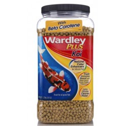 Wardley Koi Plus Natural Color Enhancing Koi Food with Beta Carotene Image