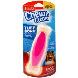 Hartz Chew N' Clean Tuff Bone Bacon Flavored Dog Toy Medium Image