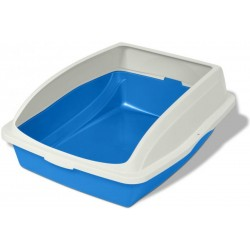 Cat Litter Pan with Cover Rim Image