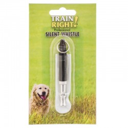 Train Right! Professional Silent Dog Whistle Image