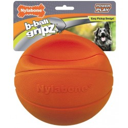 Nylabone Power Play B-Ball Grips Basketball Large 6.5