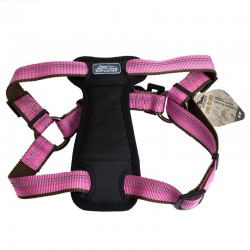 K9 Explorer Reflective Adjustable Padded Dog Harness - Rosebud Image
