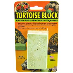 Zoo Med Tortoise Calcium Block with Cactus & Vegetables Image