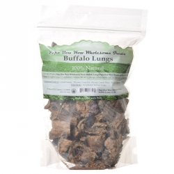 Papa Bow Wow Buffalo Lungs Dog Treats Image