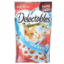 Hartz Delectables Gourmet Cat Treats - Grilled Shrimp Flavor Image